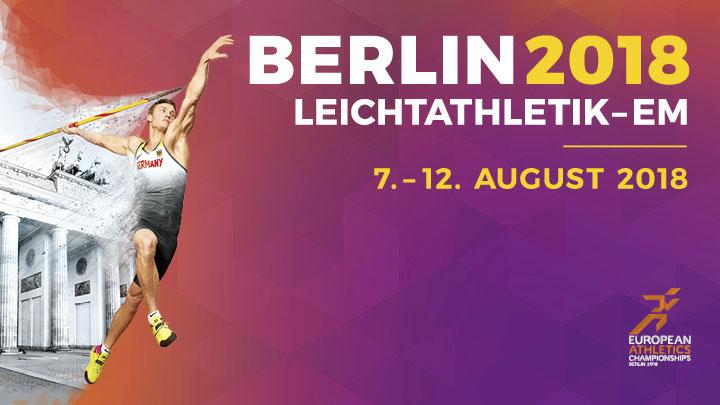 Αποτέλεσμα εικόνας για european athletics championships Berlin 2018 logo