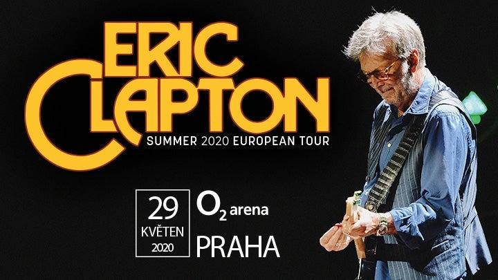 ERIC CLAPTON- Koncert v O2 arena Praha -O2 arena PRAHA
